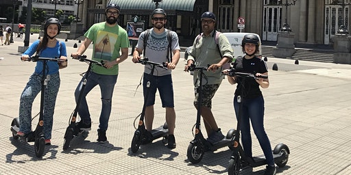 Electric Scooter Tour: North Buenos Aires