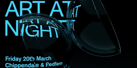 ART MONTH SYDNEY ART AT NIGHT: Chippendale/Redfern Precinct tickets