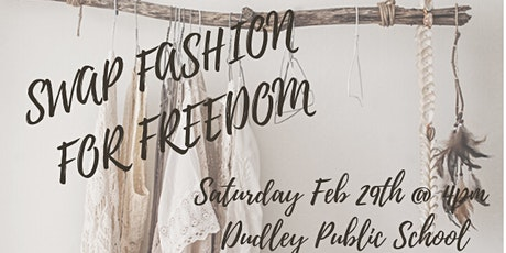 Swap Fashion For Freedom tickets
