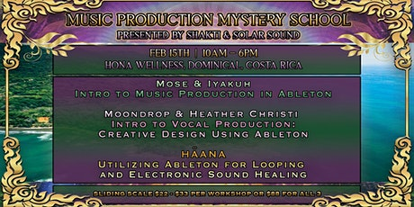 Music Production Mystery School: Costa Rica tickets