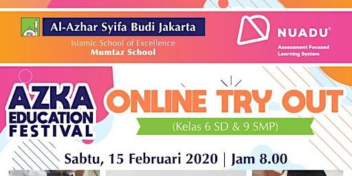 Azka Education Festival, Online Try Out
