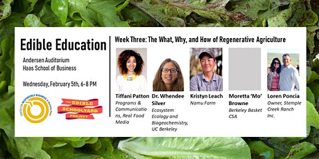 Edible Education - The What, Why, and How of Regenerative Agriculture tickets