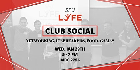 Club Social - January 2020 tickets