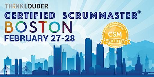 Boston Certified ScrumMaster® Workshop (CSM) - Feb 27-28
