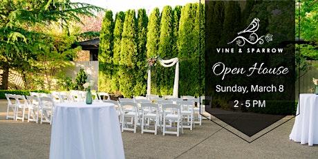 Vine & Sparrow Open House tickets