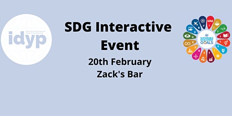 IDYP: SDG Interactive Event tickets