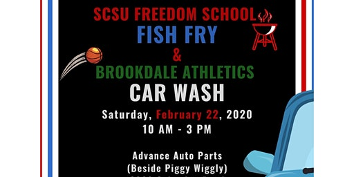 SC State Freedom School Fish Fry and Brookdale Athletics Car Wash