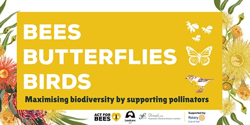 Bees, Butterflies, Birds: Maximising biodiversity by supporting pollinators