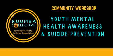 Youth Mental Health & Suicide Prevention tickets