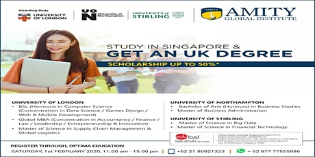 Info Session Kuliah Murah di Singapore tickets