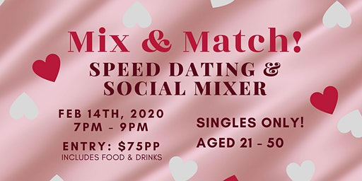 Speed Dating & Social Mixer at The Hatter & the Hare
