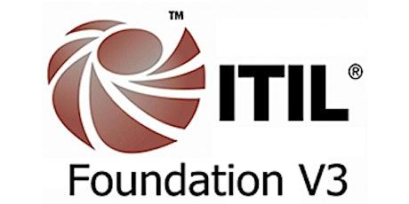 ITIL V3 Foundation 3 Days Training in Hamilton City tickets