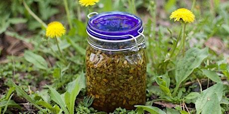 Spring Herbal Vinegar Workshop tickets