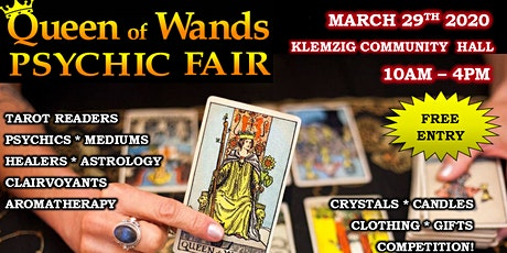 Queen of Wands Psychic Fair At Klemzig 29-03-2020 tickets