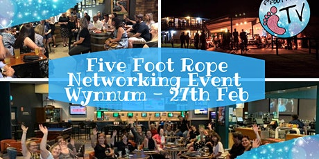 Five Foot Rope Evening Networking Event - Wynnum tickets