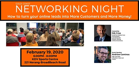 19th Gold Coast Networking Night tickets