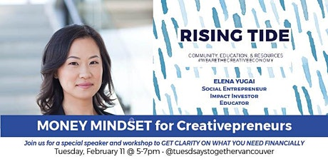 MONEY MINDSET for Creative Entrepreneurs: Networking + Education tickets
