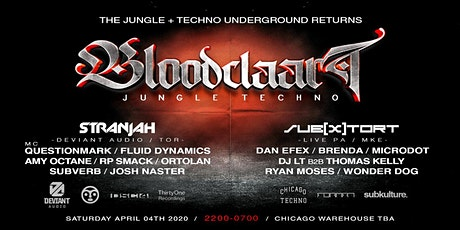 Bloodclaart Jungle Techno Unified Sesh 4.0 tickets