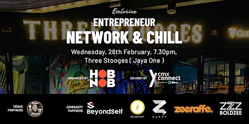 EXCLUSIVE Hobnob X Entrepreneur Network & Chill - Networking Event ( PJ )