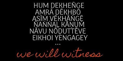 Hum Dekhenge~ Teach-in on India
