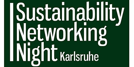 Sustainability Networking Night 2 Tickets
