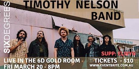 Timothy Nelson Band at Six Degrees Albany tickets