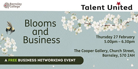 Blooms and Business tickets