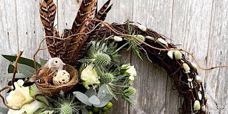 Spring Wreath Workshop- Flower arranging Warwickshire tickets