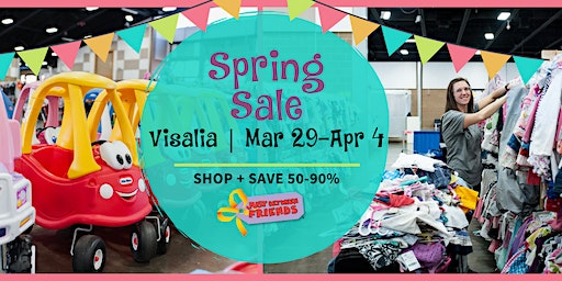 Visalia Spring 2020 Children's & Maternity Consignment Event