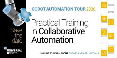 Cobot Automation Tour 2020 | Preston tickets