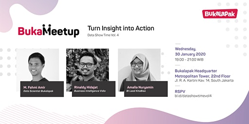 Data Show Time Vol. 4 - Turn Insight into Action