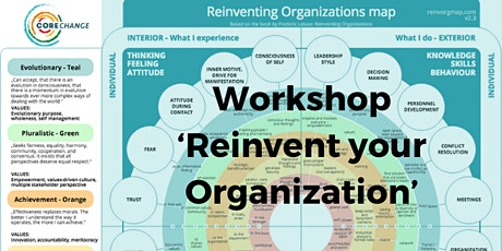 Workshop 'Reinvent your Organization' tickets