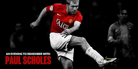 An evening to remember with Paul Scholes tickets