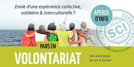 Apéro d'info / Volontariat international / Bxl tickets