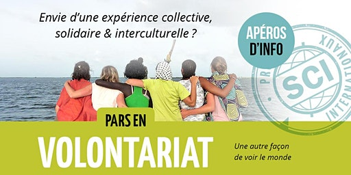 Apéro d'info / Volontariat international / Liège