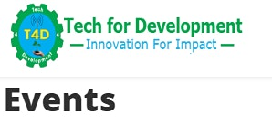 24th to 28th February 2020 Training Events (Tech for Development)