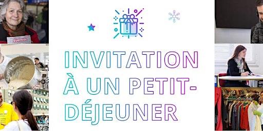 Merry Giving – Petit-déjeuner en compagnie des institutions sélectionnées