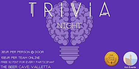 Trivia Night #2 tickets