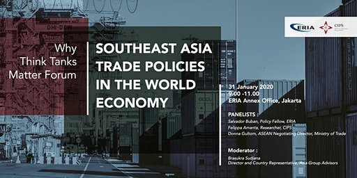 Why Think Tanks Matter: Engaging Southeast Asia in the World Economy