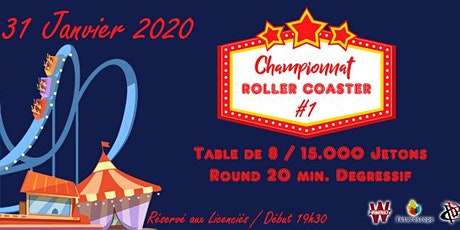 POITIERS POKER CLUB - Championnat Roller Coaster - Manche #1 billets