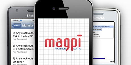 Mobile Based Data Collection using MagPi