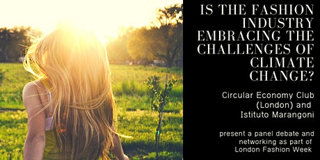 Is the Fashion Industry Embracing the Challenges of Climate Change? tickets