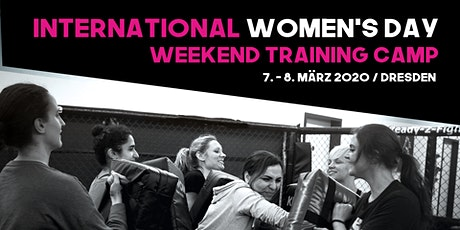 IWD Weekend Training Camp Dresden billets