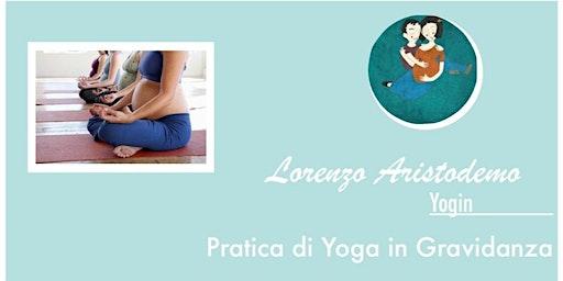 Pratica di Yoga in gravidanza.