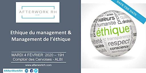 AfterWork RH Albi - Février 2020 - L'éthique du Management et Management de l'éthique