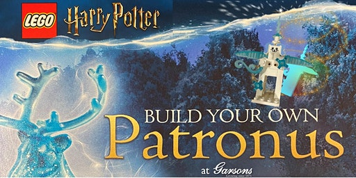 LEGO Harry Potter Build Your Own Patronus at Garsons Esher