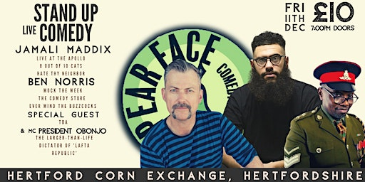 Live Stand up Comedy with Headliners Jamali Maddix and Ben Norris