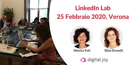 Linkedin Lab 25 Febbraio 2020 Verona biglietti