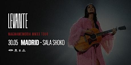 LEVANTE - MAGMAMEMORIA MMXX TOUR - SALA SHÔKO, MADRID entradas