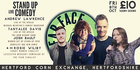 Live Stand up Comedy with Headliners Andrew Lawrence and Tanyalee Davis tickets